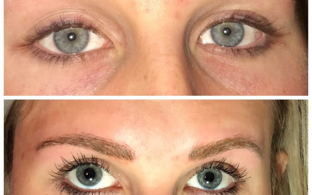 Semi Permanent Shaded Eyebrows