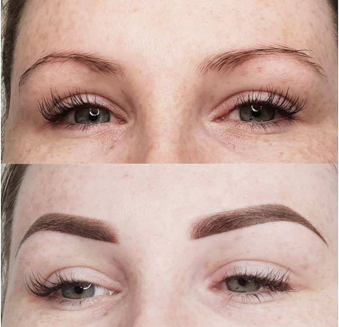 Semi Permanent Combination Eyebrows