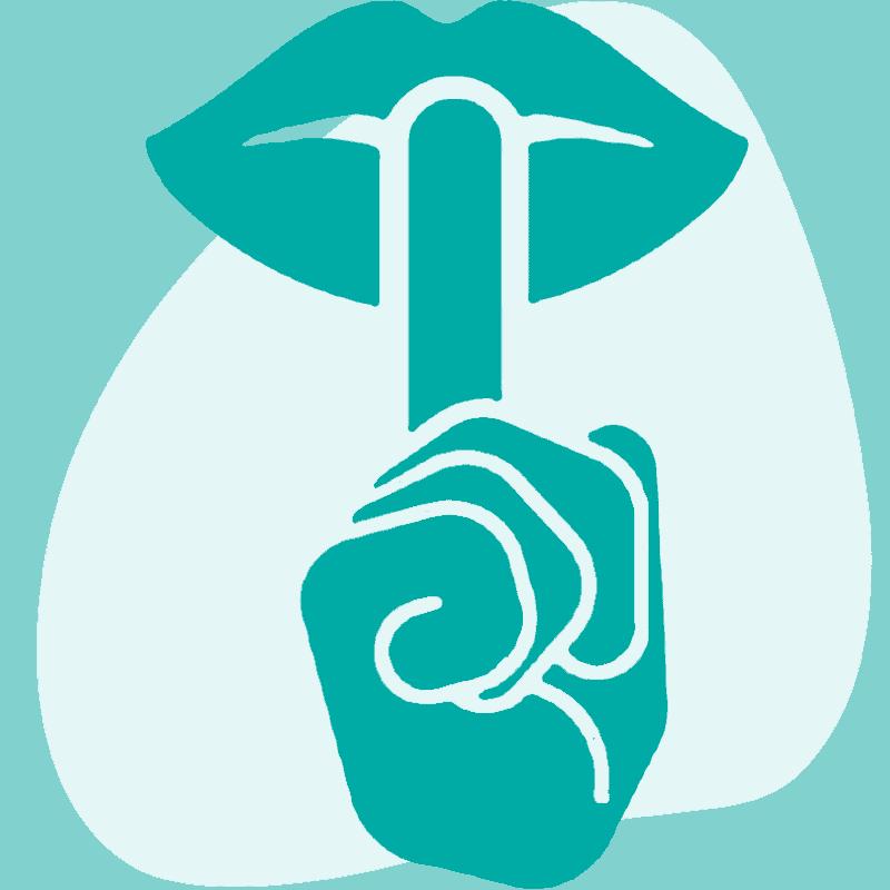 Discreet Service Icon