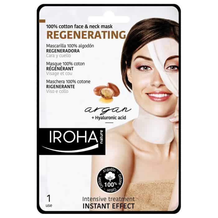 Regenerating Argan Oil Hyaluronic Acid Face Neck Mask