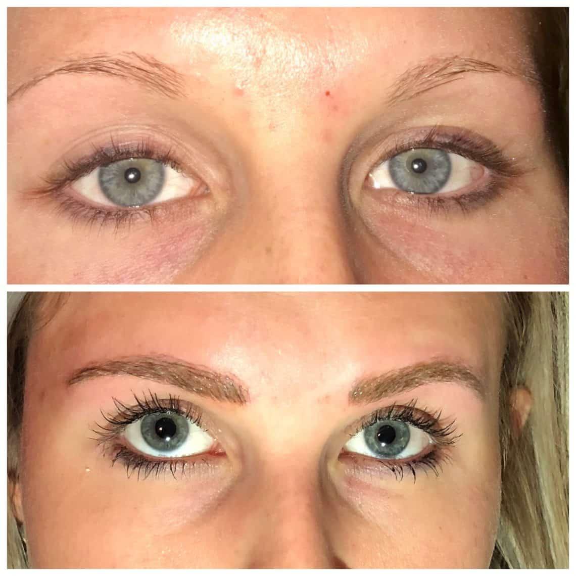 Semi Permanent Shaded Eyebrows