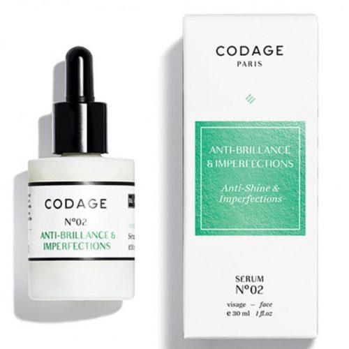 Codage Serum No.2 – Anti shine Imperfections 30ml